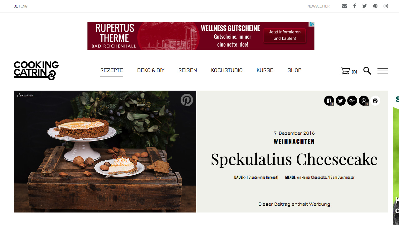 Bloggerin CookingCatrin für Guma